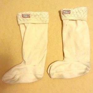 Hunter boot socks tall